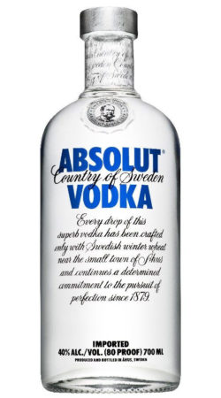 Absolut Vodka graphic