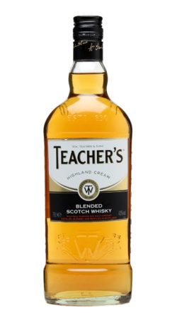 Teacher's Highland Cream graphic