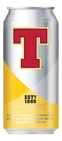 Tennent's graphic